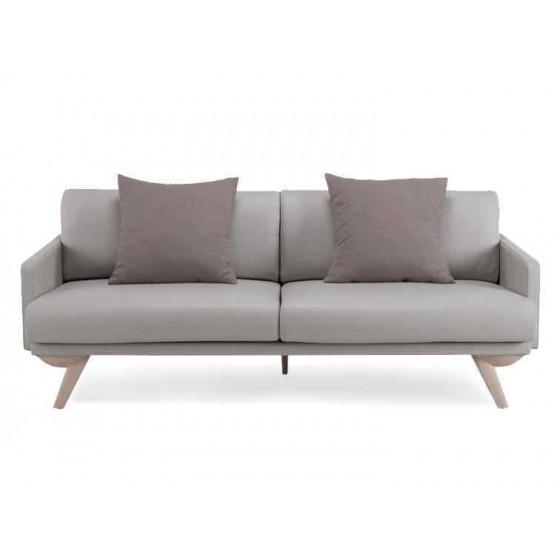 Simple imitation leather sofa