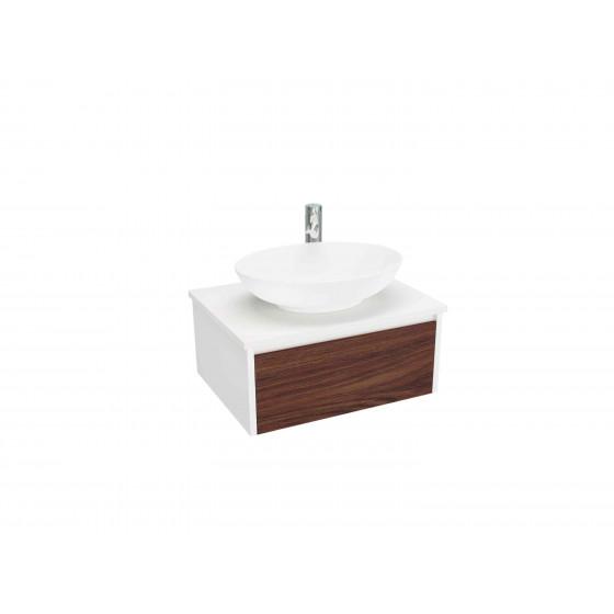 Bathroom cabinet (600 PORT-WH-E)