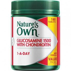 Nature's Own Glucosamine 1500 With Chondroitin 180 Tablets