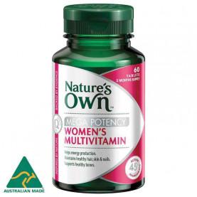 Nature's Own Women's Multivitamin Mega Potency 60 Tablets
