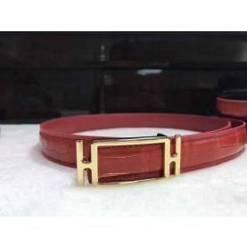 Ladies cow leather belt