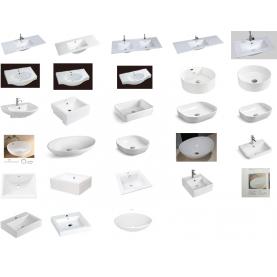 Basins, E, D, BA, A, DU Series