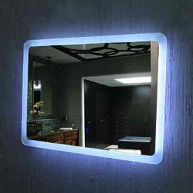 Bathroom Wall Mounted Bath Mirrors With LED Light