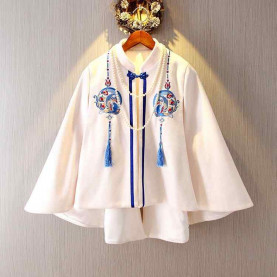 Chinese embroid cloak