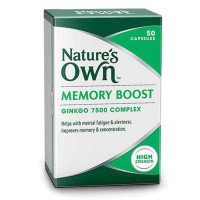 Nature's Own Memory Boost 50 Capsules