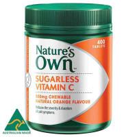 Nature's Own Sugarless Vitamin C 500mg 400 Tablets