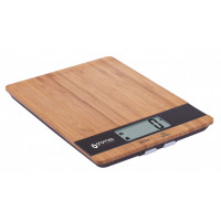 Kitchen scales made of bamboo MADE IN EUROPE