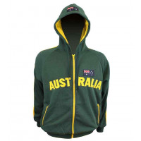 Australia Hoodie - Green/Gold