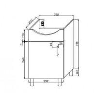 Bathroom cabinet (C-MI400-S)