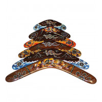 Australian Dark Wood Boomerang - size 14 inches