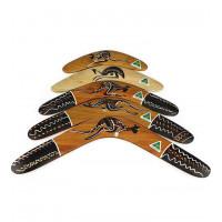 Australian Traditional Hardwood Boomerang - 16 inch