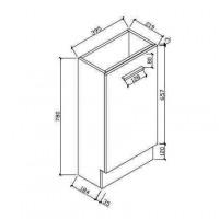Bathroom cabinet (HAV400)
