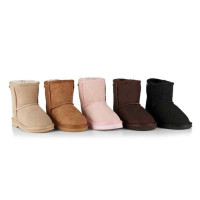 Childrens Short Surf UGG Boots - XL (approx. age 7-8yrs)