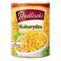 Pudliszki Brand (from Poland, Europe)-Corn, canned corn 400g