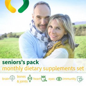 Senior's pack - monthly dietary supplements set