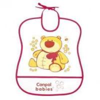 CANPOL BABIES Śliniak plastikowy miękki