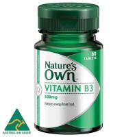 Natur hat Vitamin B3 500mg 60 Tabletten