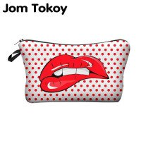 Jom Tokoy Printing Makeup-Taschen Mit Multicolor Pattern Cute Cosmetics Pouchs For Travel Ladies Pouch Women Cosmetic Bag