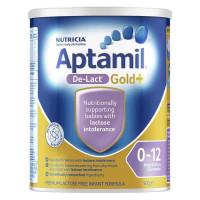 Aptamil oro de-Lact leche maternizada sin lactosa de nacimiento 0-12 meses 900g