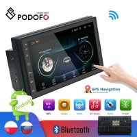 Podofo 2din Car Radio Android multimedia player Autoradio 2 Din