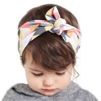 Ragazze Moda Knot nota Fasce Cotton Hair Accessori per Donne Ragazze Neonate Flower Hair Band Kids Wrap Headwear W284